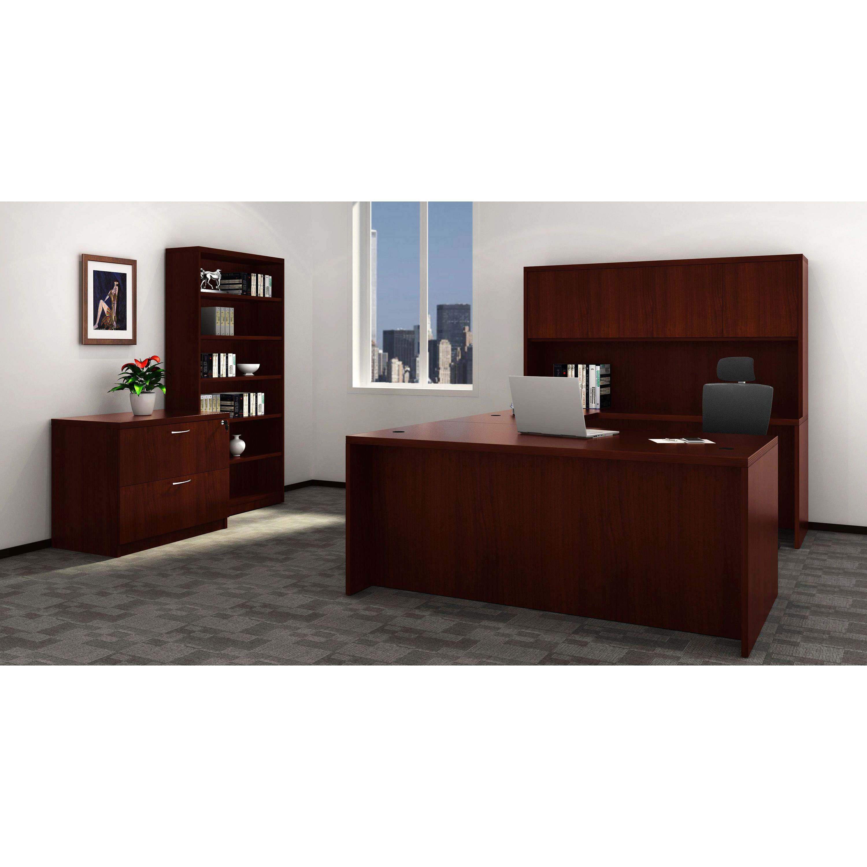 One Of Our Favorite Series Is The Lorell Chateau Series, Which Offers  Contemporary Laminate Office Furniture With A Durable Design And Multiple  ...